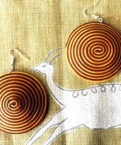 large-african-earrings